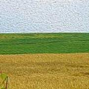 Ontario Farm In Landscape Mode Art Print