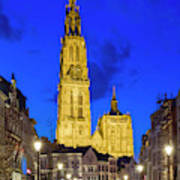 Onze-lieve-vrouwekathedraal Cathedral Art Print