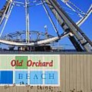 Oob- Its A Shore Wheel Art Print