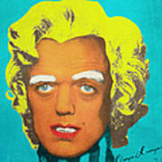 Oompa Loompa Blonde Art Print