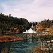 Dam At Raystown Lake Art Print