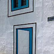 Open Door On Avenida Reboucas Art Print