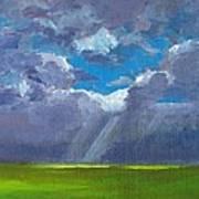 Open Field Majestic Art Print