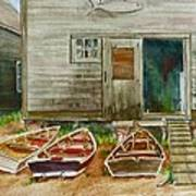 13. Yacht Club Art Print