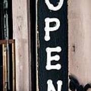 Open For Business Art Print