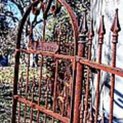 Open Gate Art Print by Kelly Kitchens