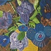 Open Roses Art Print