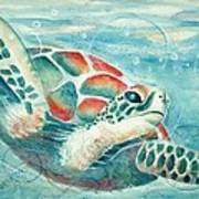 Open Seas Art Print by Joanna Gates