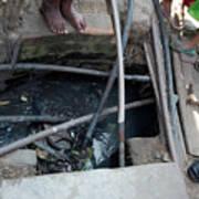 Open Sewer Art Print