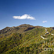 Open View 2 Of The Great Wall Mutianyu Section 603 Art Print