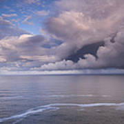 Opening Clouds Art Print by Andrew Soundarajan