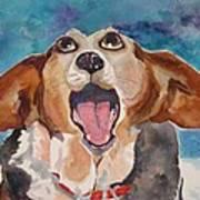 Opera Dog Art Print