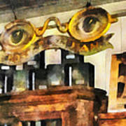Optometrist - Spectacles Shop Art Print