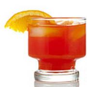 Orange Drink Art Print
