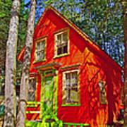 Orange In Asbury Grove In South Hamilton-massachusetts  Art Print
