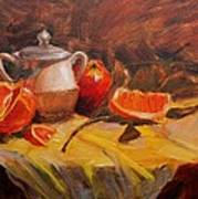 Oranges Art Print