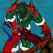 Orc Art Print