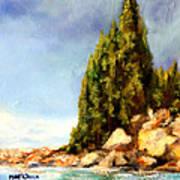 Orcas Island Art Print