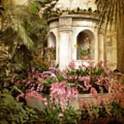 Orchid Exhibition Art Print