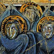 Order Of Cherubim Angels - Study No. 2 Art Print