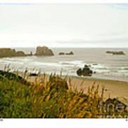 Oregon Beach Art Print