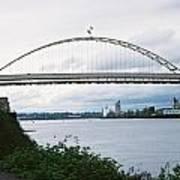 Oregon Bridge Art Print