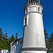 Oregon Coast - Light House Art Print
