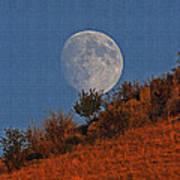 Oregon Moon Art Print