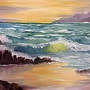 Oregon Seascape Art Print