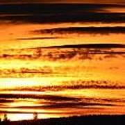 Oregon Sunset Art Print