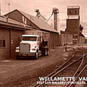 Oregon's Willamette Valley  Art Print