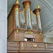 Organ At Westminster Art Print