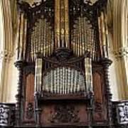 Organ Chapel Royal - Dublin Castle Art Print