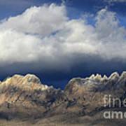 Organ Mountains New Mexico Art Print