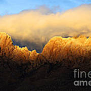 Organ Mountains Symphony Of Light Print by Bob Christopher