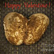 Organic Valentine Art Print