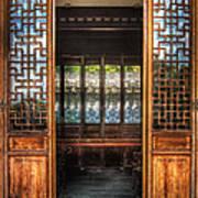 Orient - Door - The Temple Doors Art Print