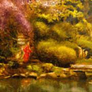 Orient - The Japanese Garden Art Print