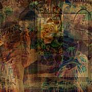Oriental Glimpse Art Print