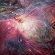Orion Nebula M42 Art Print