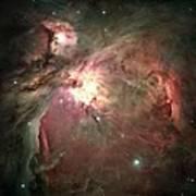Space Hollywood - Orion Nebula Art Print
