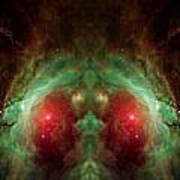 Orion's Reflection - Deep Space Nebula Art Print