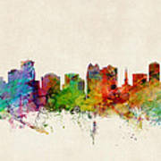 Orlando Florida Skyline Art Print