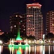 Orlando Panorama Art Print