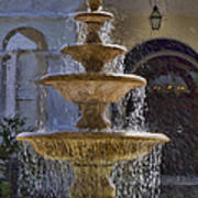 Ormond Water Fountain Art Print