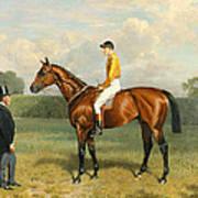 Ormonde Winner Of The 1886 Derby Art Print by Emil Adam