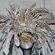 Ornamental Mask Art Print
