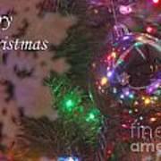 Ornaments-2096-merrychristmas Art Print