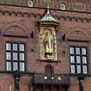 Ornate Building Artwork In Copenhagen Art Print