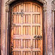 Ornate Door Art Print